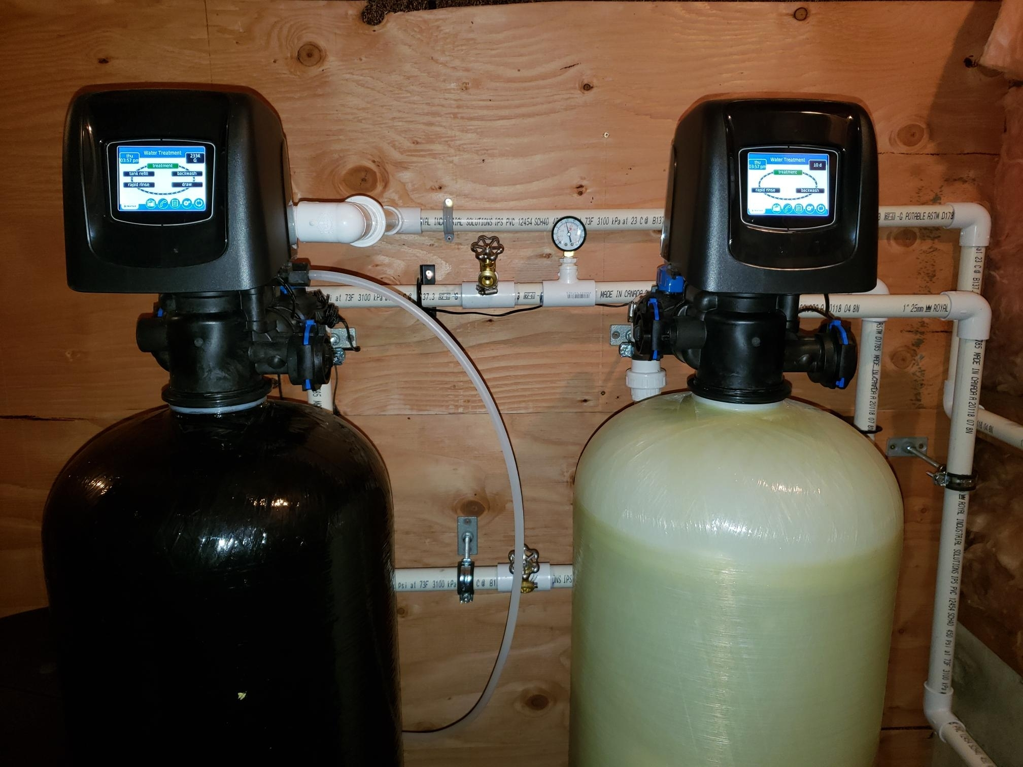 This Water Treatment System Removes Arsenic & Softens Water for a Happy Nanaimo Customer,